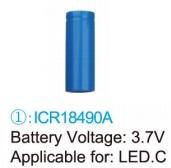 baterie typ 1 pro LED.C