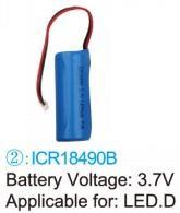 baterie typ 2 pro LED.D