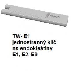 jednostranný klíč na endokleštiny TW- E1